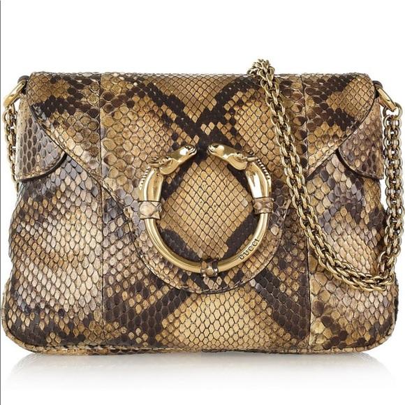 a5562febd Gucci Bags | Iso Python Purse | Poshmark